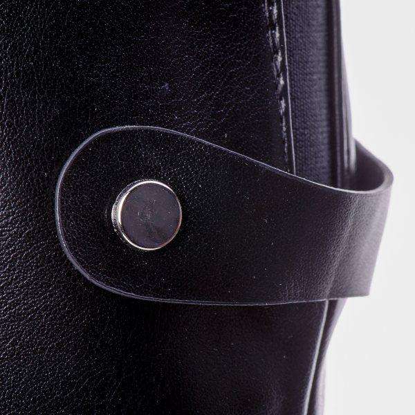 137eee6b4fb ... Μπότες Μέχρι το Γόνατο Μαύρες Με Μικρό Τακούνι ...