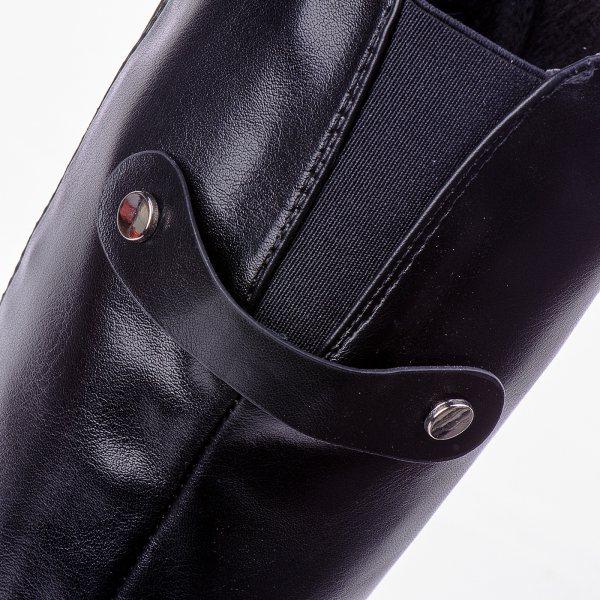 e8f4c5c501f ... Μπότες Μέχρι το Γόνατο Μαύρες Με Μικρό Τακούνι