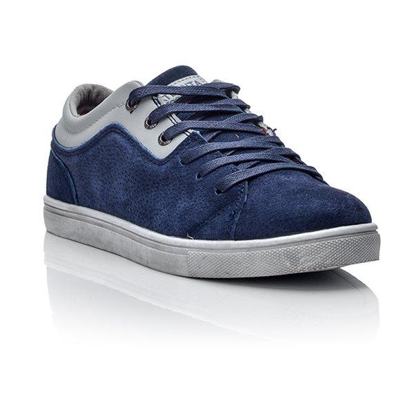 Ανδρικά Μπλε sneakers από καστόρ Ανδρικά Μπλε sneakers από καστόρ ... ea116ae81af